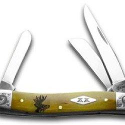 Case Xx Deer Scene Antique Stockman 1/200 Pocket Knife Knives