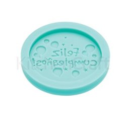 "Kitchen Craft Sweetly Does It ""Feliz Cumpleaños"" Fondant Mould - 64Mm"