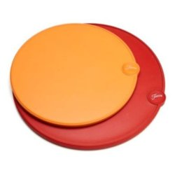 Fiesta 2-Piece Round Cutting Board Set