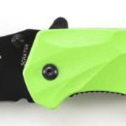 Schrade Scha7Gr M.A.G.I.C. Assisted Opening Liner Lock Folding Knife, Green