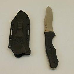 Benchmade Osborne, Fixed Contego, Comboedge/Satin Finish Blade/ Contoured Black G10 Handle 183S