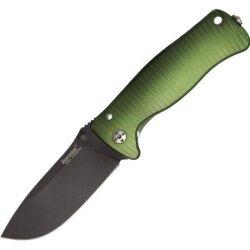 Lion Steel Knives Sr2Agb Lion Steel Sr Mini Molleta With Sleipner Steel Black Finish Blade
