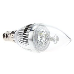 W E14 3 Lm 270-290 5800-6300 - K Natural White Led Candle Bulb (85-265 - V)