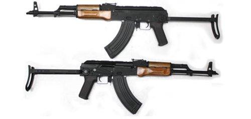 CM048S AKMS フルメタル&木製ハンドガード付き電動ガン