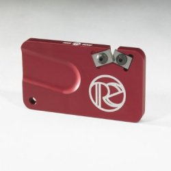Redi-Edge Pocket Knife Sharpener In A Selection Of Colors (Red)