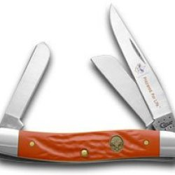 Case Xx Jigged Red Delrin Boy Scouts Of America Stockman Pocket Knife Knives