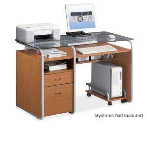 Picture of Comfortable TECHNI MOBILI RTA-3327 Wood Computer Desk (B002Y2NCCU) (Computer Desks)