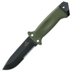 Gerber Knives - Lmf Ii, Infantry Green Handle, Serrated