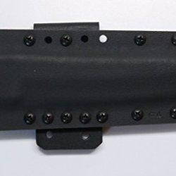 "Custom Black .08"" Kydex Sheath For Cold Steel Knives Master Tanto Knife"