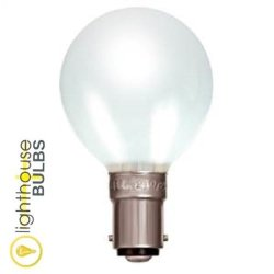 Eveready 40W Decorative Lighting Golf Ball B15D Opal/Pearl Finish - [Eu Specification: 220-240V]