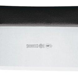 Mundial 5697  6-Inch By 3-Inch Dough Cutter And Scraper, Black