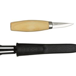 Morakniv Wood Carving 120 Knife With Laminated Steel Blade, 1.9-Inch