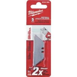 Milwaukee 48-22-1933 5 Pc Drywall Utility Knife Blades