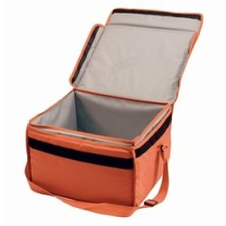 "Insulated Food Delivery Bag Nylon Bag. 16"" X 14"" X 10""."