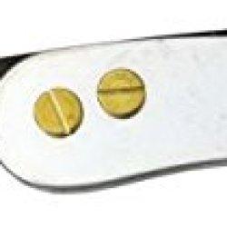 Svord Peasant Knife Fold Knife, Swedish High Carbon Tool Steel Blade, Silver Handle Pkz