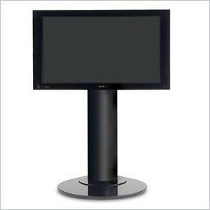 Image of BDI Vista LCD/Plasma TV Floor Stand in Black Finish (9950B)