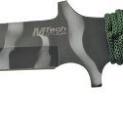 Mtech Usa Mt-303B Fixed Blade Knife 11.25-Inch Overall