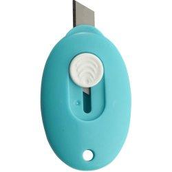 Dl No.2050 Mini Cutter, 60 X 38Mm(2.36'' X 1.5''), Various Colors - Blue