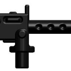 Brickarms 2.5 Scale Loose Weapon M1919 Machine Gun Black
