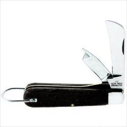 Klein 44038 2-Blade Pocket Knife With Stainless Steel 2-Inch Sharp Point And 1 1/4-Inch Spearpoint Blades