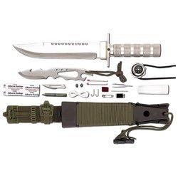 Maxamâ® 12Pc Survival Knife Set , Maxam Survival Knife