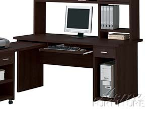 Picture of Comfortable Furniture Espresso Finish Computer Desk by Acme Furniture (B005G4UGFY) (Computer Desks)