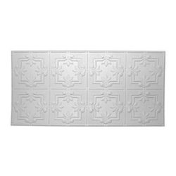 """2'X4' 12""""Wht Vict Panel, Pack Of 5"""