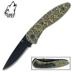 Timber Wolf Folding Knife Jungle Viper