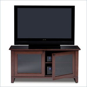 Image of BDI Novia 8424 CO TV Stand for 26-50 inch Flat Panels (Cocoa Stained Cherry) (8424 CO)
