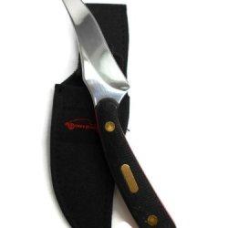 Ocoee River Skinning Knife (Black & Red Handle)