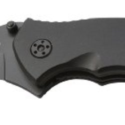 Sarge Knives Sk-805 Tactical First Folder Knife With 3-Inch Stainless Blade Glass-Break Striking Point