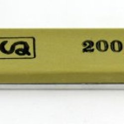 "Chosera 2,000 Edge Pro Stone, 1""X6"" X 5Mm With Aluminum Mounting"