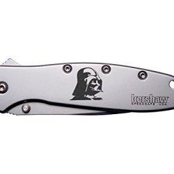 Darth Vader Inv Engraved Kershaw Leek 1660 Ken Onion Design Folding Speedsafe Pocket Knife By Ndz Performance