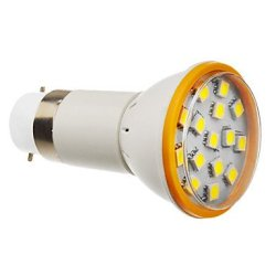 4 W B22 15 X5050Smd Lm 6000 K, 270-300 Cold White Led Bulb Lamp King Size (200-240 - V)