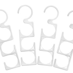 Jokari 4 Count Closet Mates Hanger Links Accessory Organizer