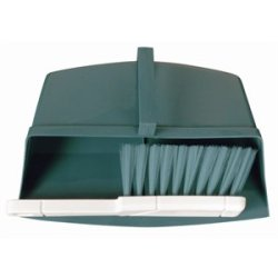 Jantex Colour Coded Brush Green. White Handle With Coloured Bristles. Pan Sold Separately.