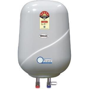 Inalsa PSG 15N 2000-Watt Dual Tube Storage Water Heater (Ivory)