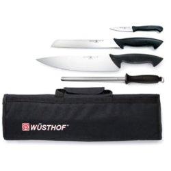 Wusthof Pro 5Pc Starter Knife Roll Set