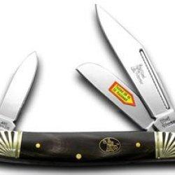 Steel Warrior Buffalo Horn Stockman Pocket Knife Knives