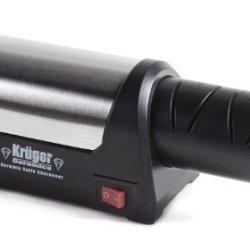 Kruger Ceramics Electric 4-Wheel Diamond Coated Knife Sharpener For Ceramic Knives