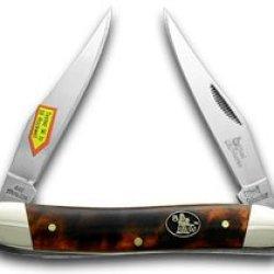 Steel Warrior Imitation Tortoise Shell Muskrat Pocket Knife Knives