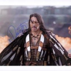 Signed Trejo, Danny (Machete) 8X10 Photo Autographed