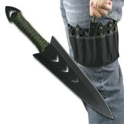 Perfect Point Rc-040-6 Throwing Knives Set Of 6