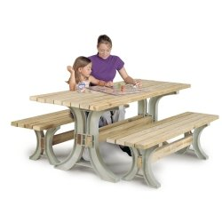 Blitz Picnic Table Kit; Sand