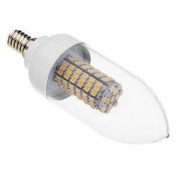 7 W E14 X3528Smd 118 Lm 2500-3500, 620-640 K Warm White Led Candle Bulb (220 V - 240 - V)