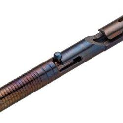 Boker Usa Plus Tactical Pen Cid Cal .45 Titanium Flame 09Bo095