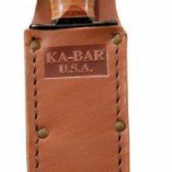 Ka-Bar Usa Leather Sheath, 5-1/4 Inch, Brown