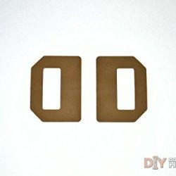 """Diy Kydex Holster Owb Wings, 1.75"""" Belts, Coyote Brown, 2 Pack"""