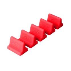 Drawerdecor - Customizable Drawer Organizer Short Divitz (5-Pack) - Red