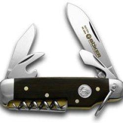 Boker Tree Brand 145Th Anniversary Grenadill Sport Camp Knife 1/1869 Knives